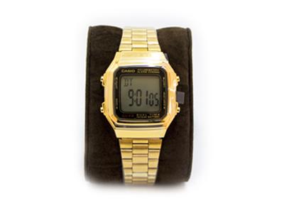 ساعت casio مدلa178w  رنگ طلایی